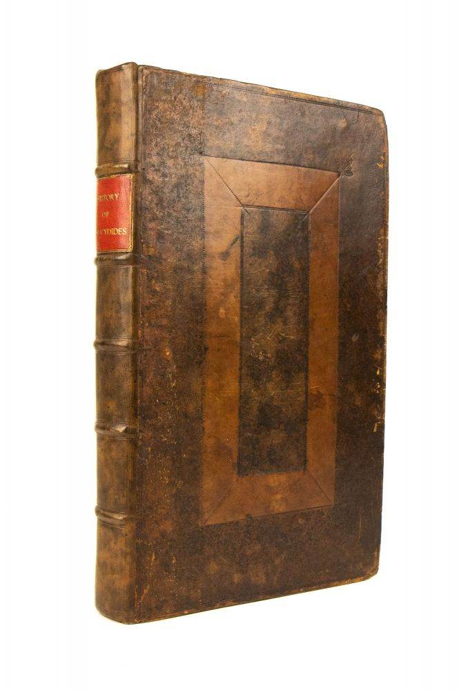 Eight Books of the Peloponnesian Warre. Written by Thvcydides the sonne of Olorvs. Interpreted with Faith and Diligence Immediately out of the Greeke By Thomas Hobbes. Secretary to the late Earle of Deuonshire.