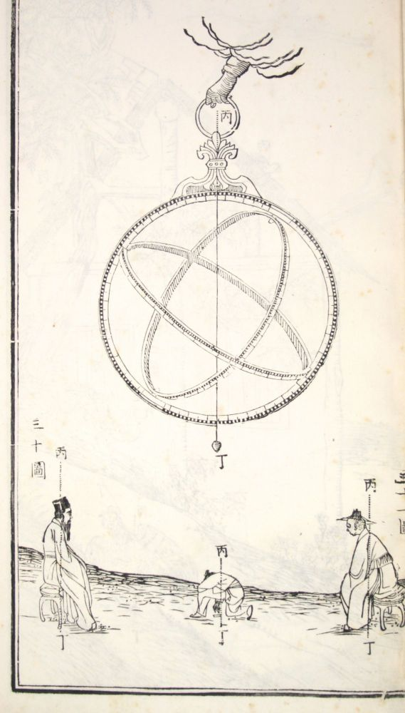Ling-t'ai I-hsiang t'u or Hsin-chih I-hsiang t'u [trans.: A Newly Made Collection of Astronomical Instruments]