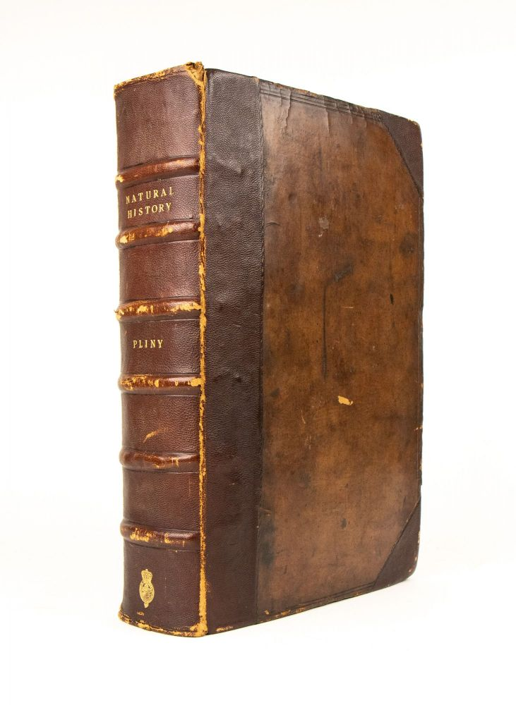 The Historie of the World. Commonly called, the Naturall Historie of C. Plinius Secundus. Translated into English by Philemon Holland Doctor in Physicke. The first [& Second] tome.