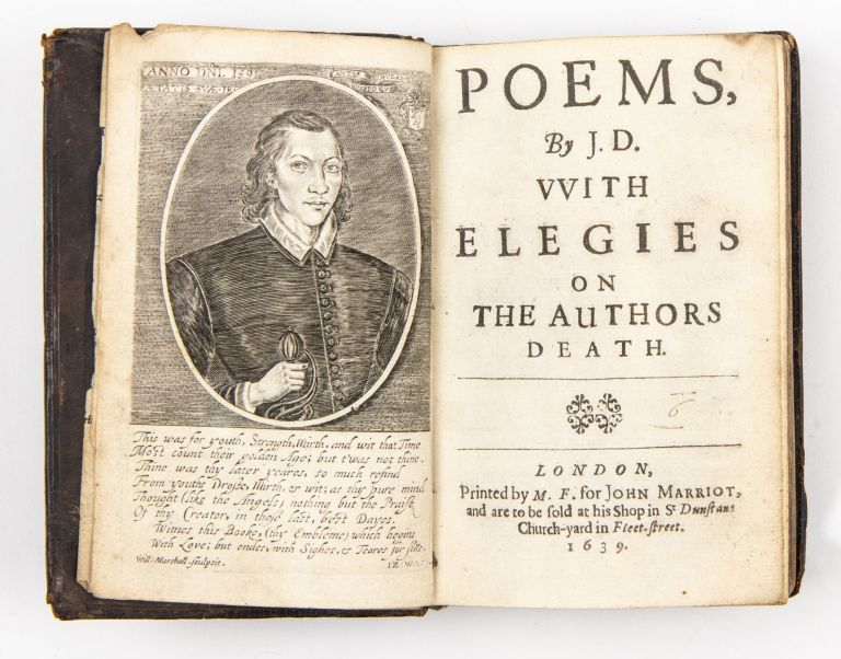 Poems, by J.D. VVith elegies on the authors death. John Donne