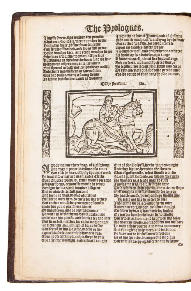 The Workes of Geffrey Chaucer, newlie printed, with divers addicions, whiche were never in print before: With the siege and destruccion of the worthy Citee of Thebes, compiled by Jhon Lidgate, Monke of Berie. As in the table more plainly doeth appere. Geoffrey Chaucer, d. 1400.
