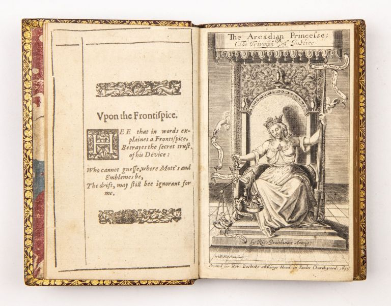 The Arcadian princesse; or, The triumph of iustice: prescribing excellent rules of physicke, for a sicke iustice. Digested into fowre bookes, and faithfully rendred to the originall Italian copy, by Ri. Brathvvait Esq. Mariano FORGERY. Silesio, Richard Brathwait, d. 1368, 1588?-1673.