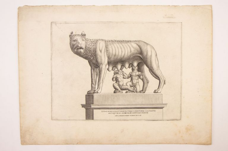 The She-wolf with Romulus and Remus