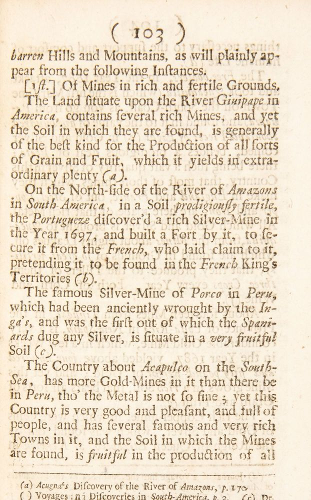 Some Account of Mines, and the advantages of them to this kingdom. With an appendix relating to the mine-adventure in Wales.